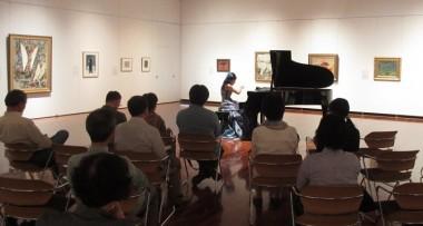 淺香みのりさん(ピアノ)